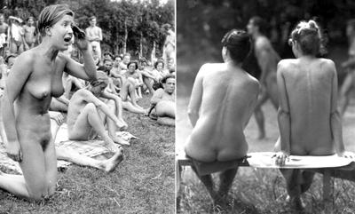 Schwimmunterricht nackt